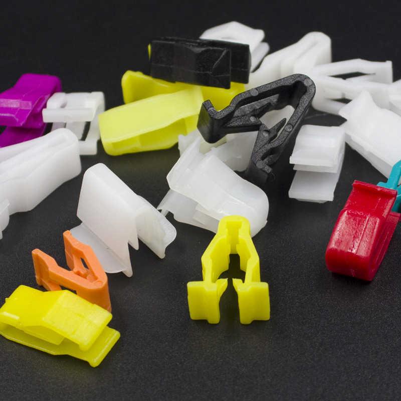 100 قطعة سيارة مركز وحدة التحكم البلاستيك السحابة لتويوتا مازدا نيسان هوندا فورد بويك هيونداي كيا رينو Citroen بيجو فولفو VW