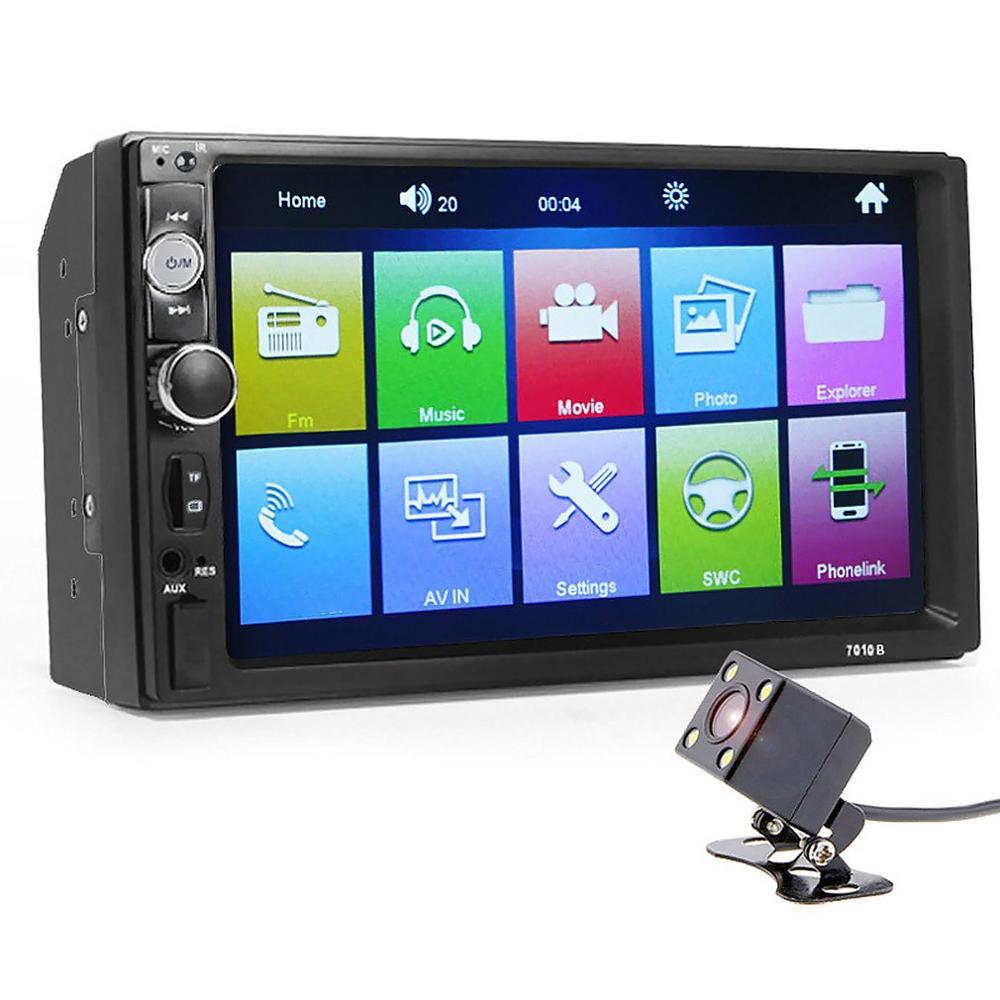 7 Inch Auto Mp4 Mp5 Player Drahtlose Hände-Freies Aufruf Auto Mp3 Karte Maschine Radio Rückfahr Auto-Player