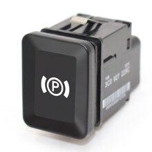 Uniwersalny przełącznik parkowania samochodu EPB elektroniczny hamulec ręczny hamulec postojowy przycisk przełącznika zamiennik dla VW Volkswagen Passat B6 C6 CC