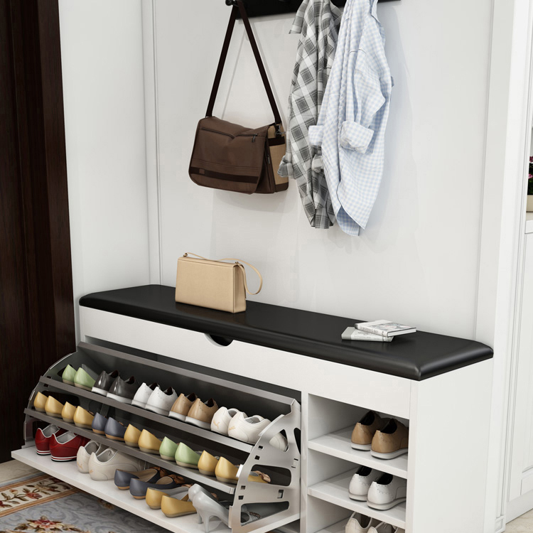 Home Can Be Used After The Door To Change The Shoe Bench Into The Door Storage Storage Stool Multi-layer Simple Shoe Rack