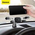 Автомобильный держатель для телефона Baseus Dashboard  подставка для iPhone  huawei  samsung  Xiaomi  Gravity  автомобильный держатель для смартфона
