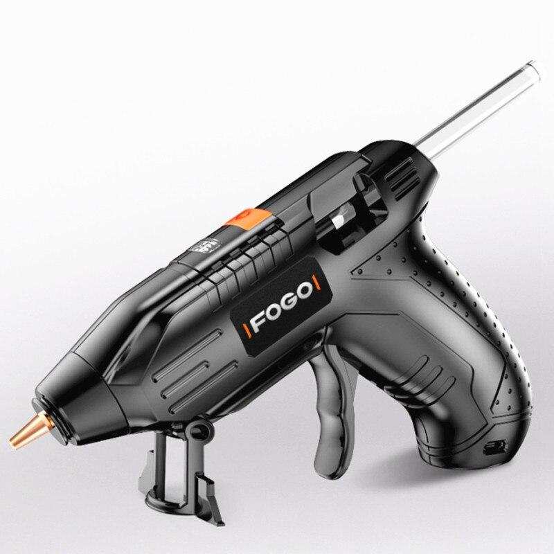 ML-HG2 3.6V sans fil bricolage colle thermofusible G un 1800mAh Li-ion colle G un outil électrique artisanal avec des bâtons de colle pour la maison de voiture en plein air