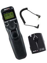 Viltrox JY 710 C3 ไร้สาย LCD Timer รีโมทคอนโทรลสำหรับ Canon 30D 40D 50D 7D 7DII 6DII 5D Mark IV 5DIII