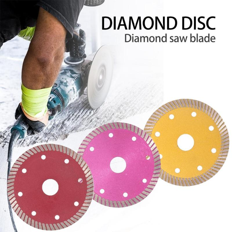 Round Diamond Saw Blades Rotary Disc Stone Ceramic Tile Marble Stone And Vitrified For Cutting Ceramic Tile Cutting Tools
