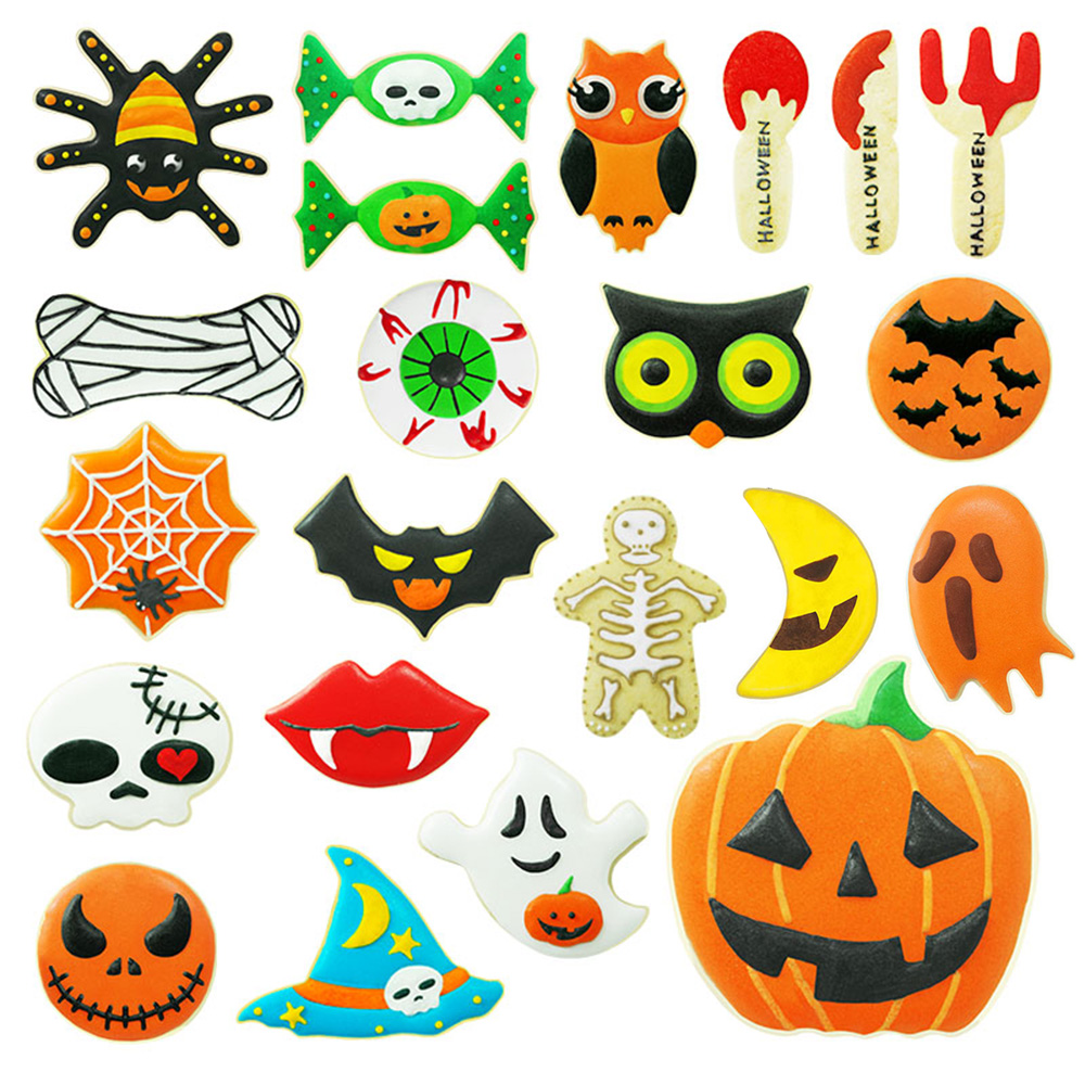 New Halloween Stainless Steel Pumpkin Biscuit Cookie Cutter Pastry Fondant Mold
