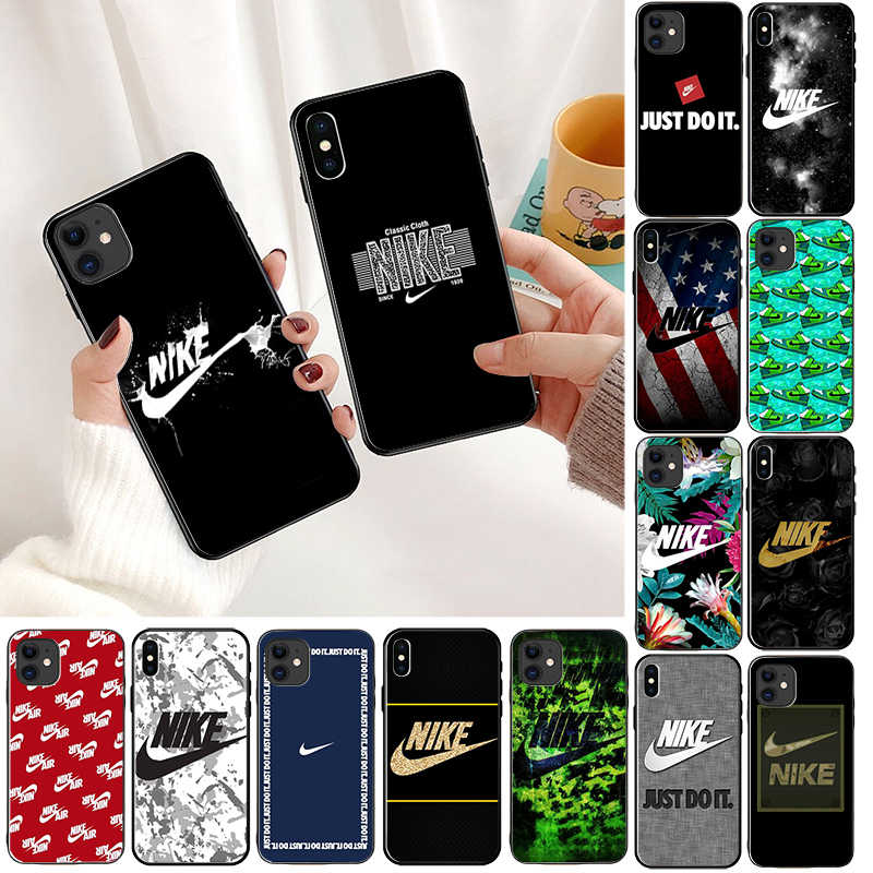 Babaite American sports brand hook LOGO  Colorful Cute Phone Case for iPhone 11 pro XS MAX 8 7 6 6S Plus X XR 5 5S SE cover