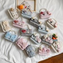 Mini Purses Pouch Coin Wallet Girl Baby Korean Handbags Crossbody-Bags Small Princess