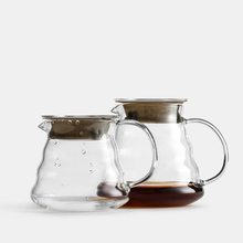Cold Brew Coffee Pot  360/600/800ML Wooden Brackets Glass Dripper and Set for Hario Style Filter