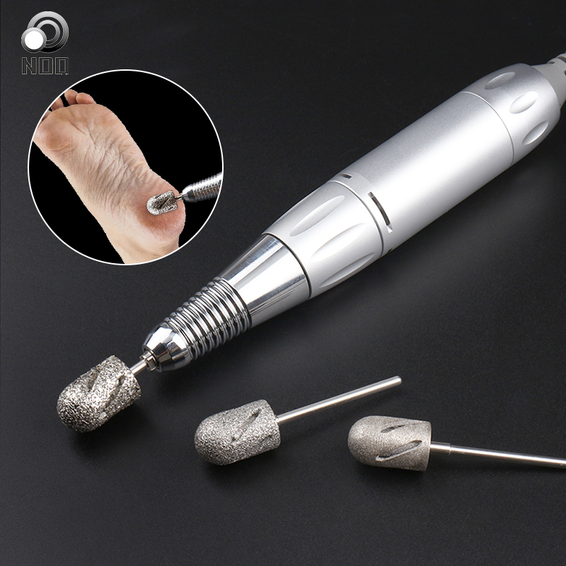 3 Size Manicure And Pedicure Lathe Nail Drill Manicure Cuuters Nails Accessories Bits For Foot Care Tools Callus Clean Cuticle