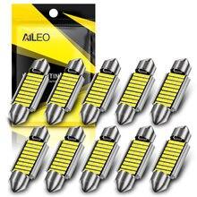 AILEO ошибок 10x C5W C10W светодиодный лампы 31 36 мм 39 мм 42 интерьер чтение светильник гирлянда Авто купол номерной знак Чемодан лампа багажника