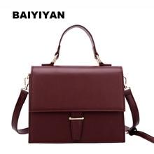 цена на New Women Solid Hasp Shoulder Bag Messenger Bag Briefcase Package Ladies Envelope Bag Crossbody Bag