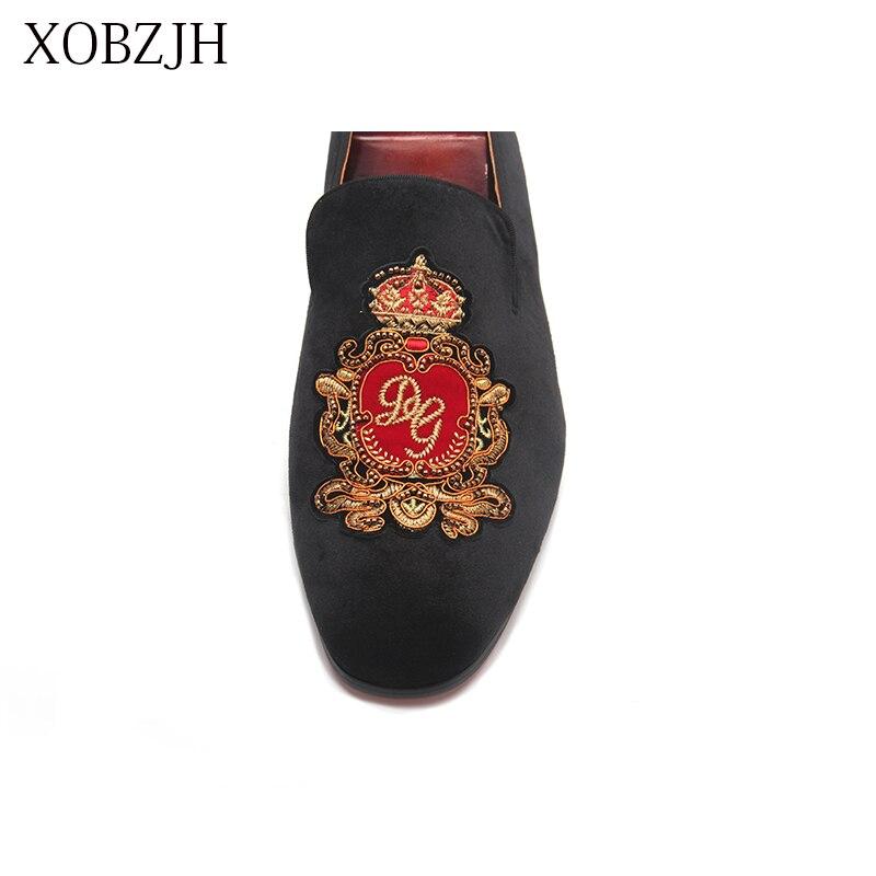 Итальянские Свадебные лоферы из натуральной кожи; Роскошные Мужские модельные туфли с красной подошвой; Дизайнерская обувь ручной работы; Высококачественная Мужская Брендовая обувь - 6