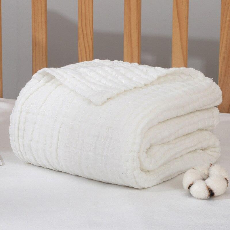 Bamboo Baby Blankets Newborn Baby Blanket Cotton Muslin Baby Blanket Size 110*110cm