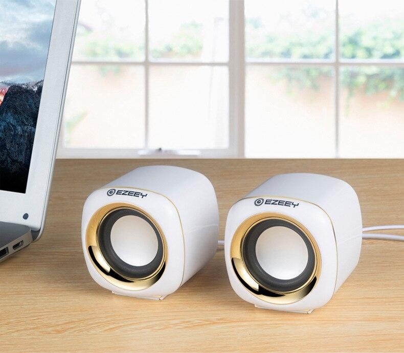 Altavoz de graves profundos para ordenador, minialtavoces de Audio USB para portátil, Notebook, PC, Multimedia