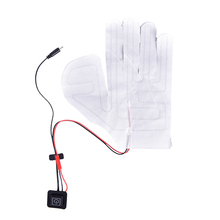 Heated-Gloves Glove-Heating-Sheet Arm Thermal-Warmer Hands USB Winter 5V 1pc