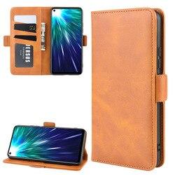 На Алиэкспресс купить чехол для смартфона simple solid color wallet pu leather flip phone case for vivo z5x z1 pro y7s iqoo neo cover fashion denim bussiness phone bag