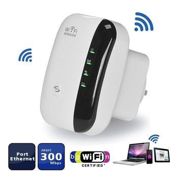 Repetidor Wifi amplificador de señal, extensor de rango Wifi de 300 Mbps,...