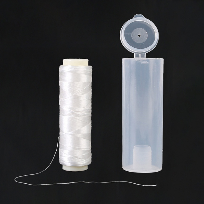 New 1Pcs 0.25mm 100M High Tensile Polyester Bait Elastic Thread Spool SeaTackle Invisible Fishing Bait Line  Fishing Accessories