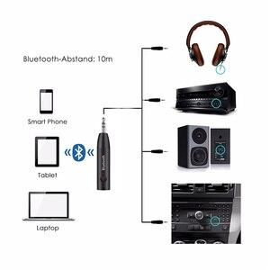 Image 3 - 3.5MM Jack odbiornik Bluetooth bezprzewodowy Adapter Aux Bluetooth 5.0 zestaw głośnomówiący Stereo odbiornik muzyki Audio do samochodu zestaw słuchawkowy z głośnikiem