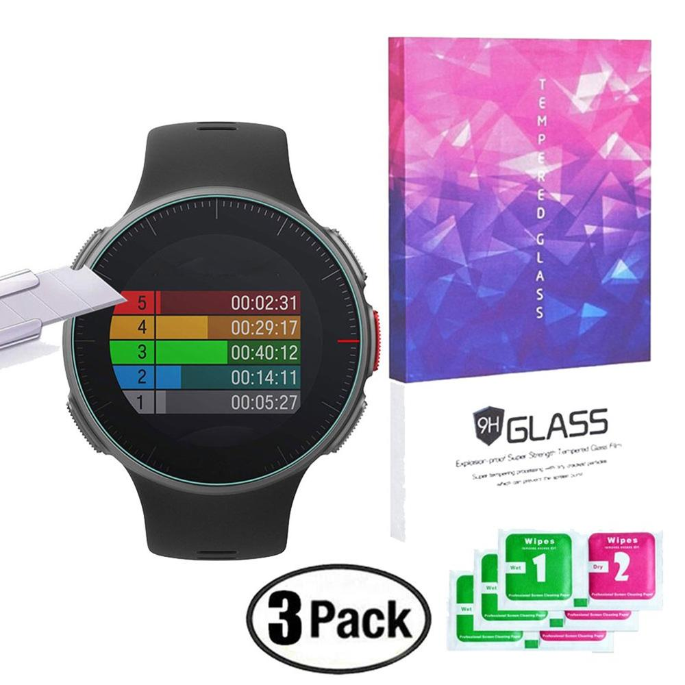 For Polar Vantage M / V Watch Screen Film Tempered Glass High Hardness Explosion-Proof Protective Film 3Pcs