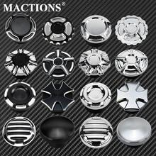 Motorcycle CNC Aluminum Decorative Oil Cap Fuel Gas Tank Cover Fits For Harley Sportster XL48 883 1200 Touring FLHR Dyna Softail gas tank motorcycle for harley davidson sportster xl 1200 883 x48 dyna fuel gas tank rough crafts decorative oil cap aluminum