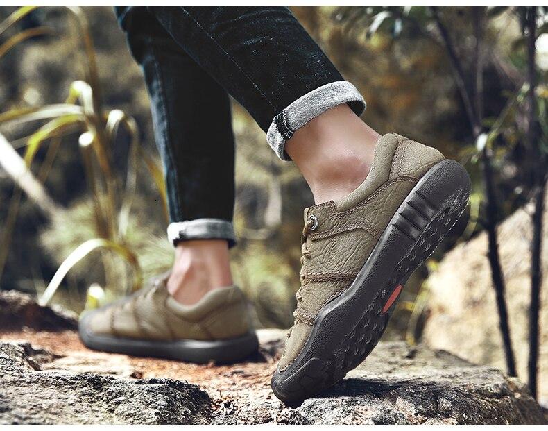 Qzhsmy montanhismo ao ar livre sapatos de