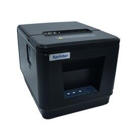 Impresora POS de recepción térmica de 80mm de buena calidad con interfaz USB o Lan para centros comerciales, supermercados
