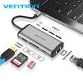 Tions Usb Hub USB Typ C zu HDMI USB 3.0 HUB Thunderbolt 3 Adapter Für MacBook Samsung S9 Huawei Mate 20 p20 Pro USB C HUB NEUE-in Type-C-Adapter aus Verbraucherelektronik bei