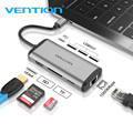 Vention Usb концентратор usb type C к HDMI USB 3 0 концентратор Thunderbolt 3 адаптер для MacBook samsung S9 huawei mate 20 P20 Pro USB-C концентратор Новый