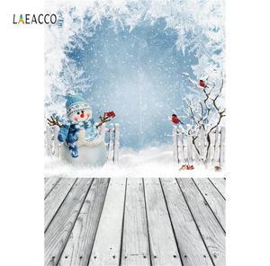 Image 2 - Laeacco Weihnachten Festivals Baby Spielzeug Geschenk Alt Holz Regal Boden Baby Kind Party Porträt Foto Hintergrund Fotografie Hintergrund