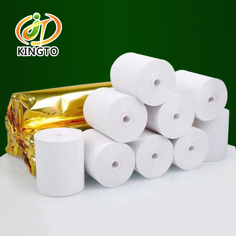 No Core Thermal Paper 57x50mm POS Roll Thermal Receipt Paper