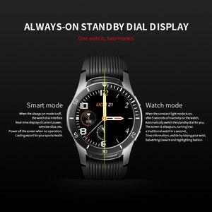 """Image 2 - Lerbyee GT106 Đồng Hồ Thông Minh 1.28 """"Full Màn Hình Cảm Ứng Nhịp Tim Nhắc Cuộc Gọi Tập Thể Hình Đồng Hồ Nam Nữ Nhạc Đồng Hồ Thông Minh Smartwatch IOS"""