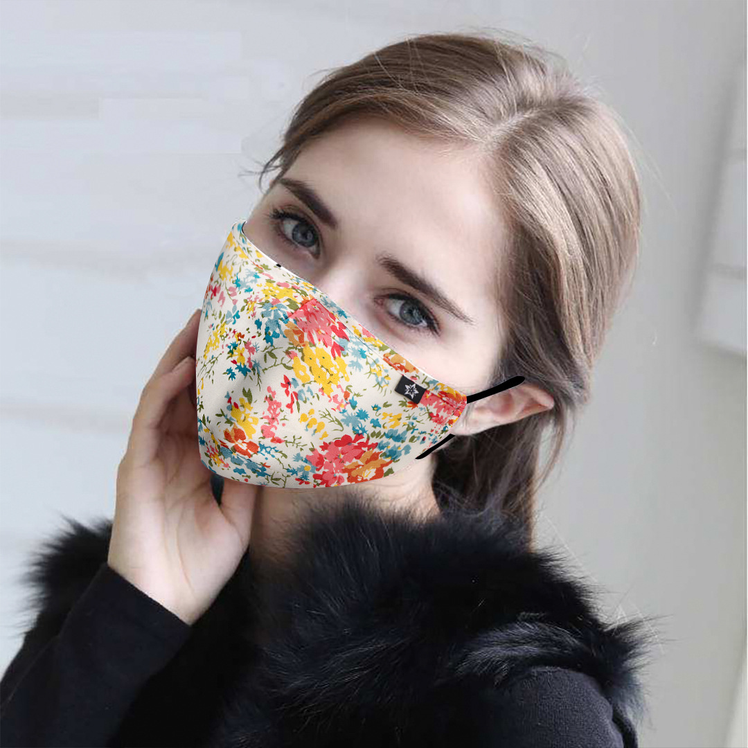 MEN WOMEN Fashion Cotton PM2.5 Anti Haze Smog Mouth Dust Mask + * Activated Carbon Filter Paper * Bacteria Proof Flu Face Mask