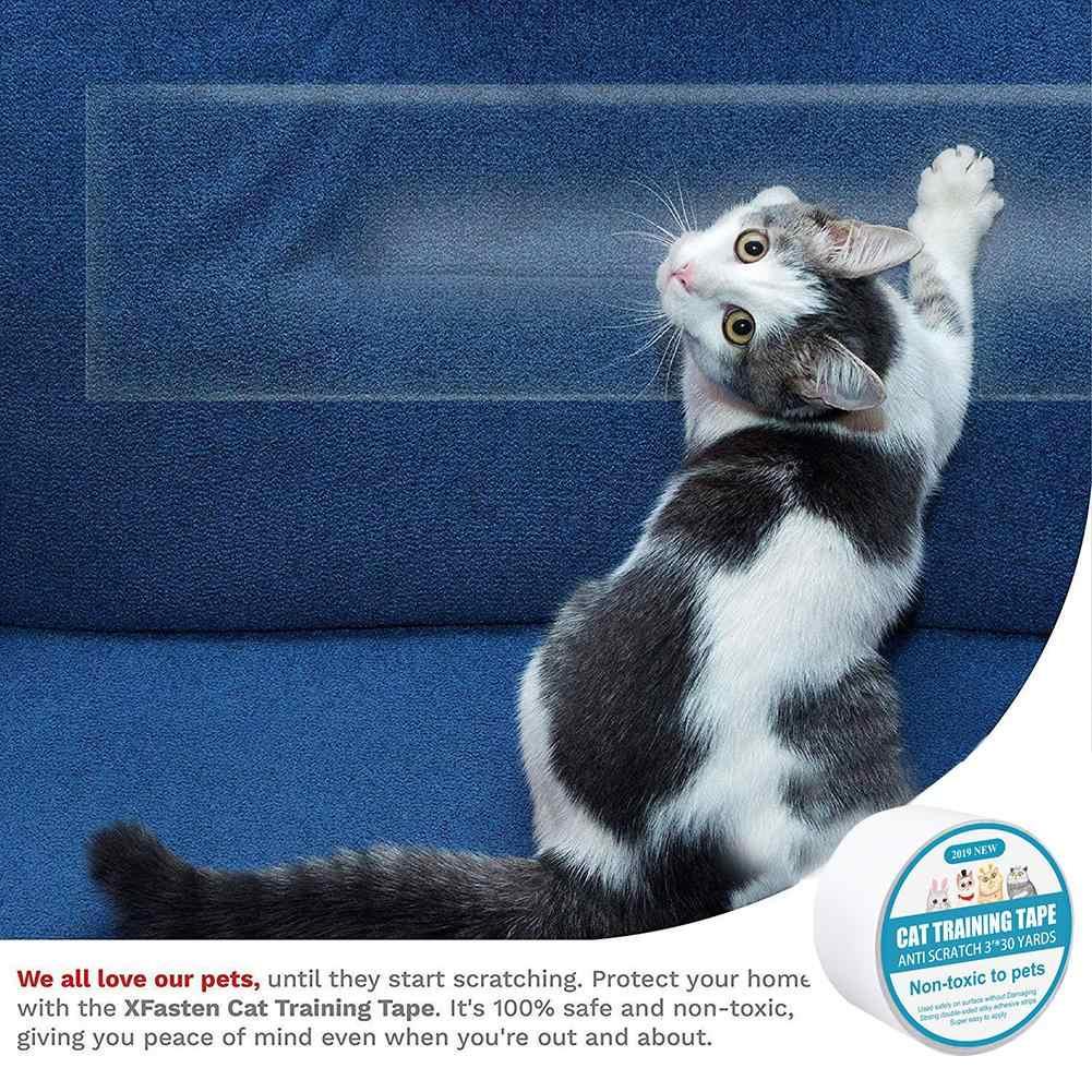 Protege Canape Pour Chat pet grand scratch garde tapis bande protection canapé garde auto-adhésif  canapé garde pour chat meubles chaise protecteur gardes bande
