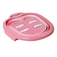 Travel Large Hangable Reduce Pressure Heightened Portable Massage Roller Anti Slip Bucket Thick Foldable Basin Foot Bath Home