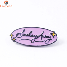 New TV Show SASHAY AWAY Brooch RuPauls Drag Race Season Enamel Pin Cute Denim Clothes Backpack Jewelry Gifts for Friends