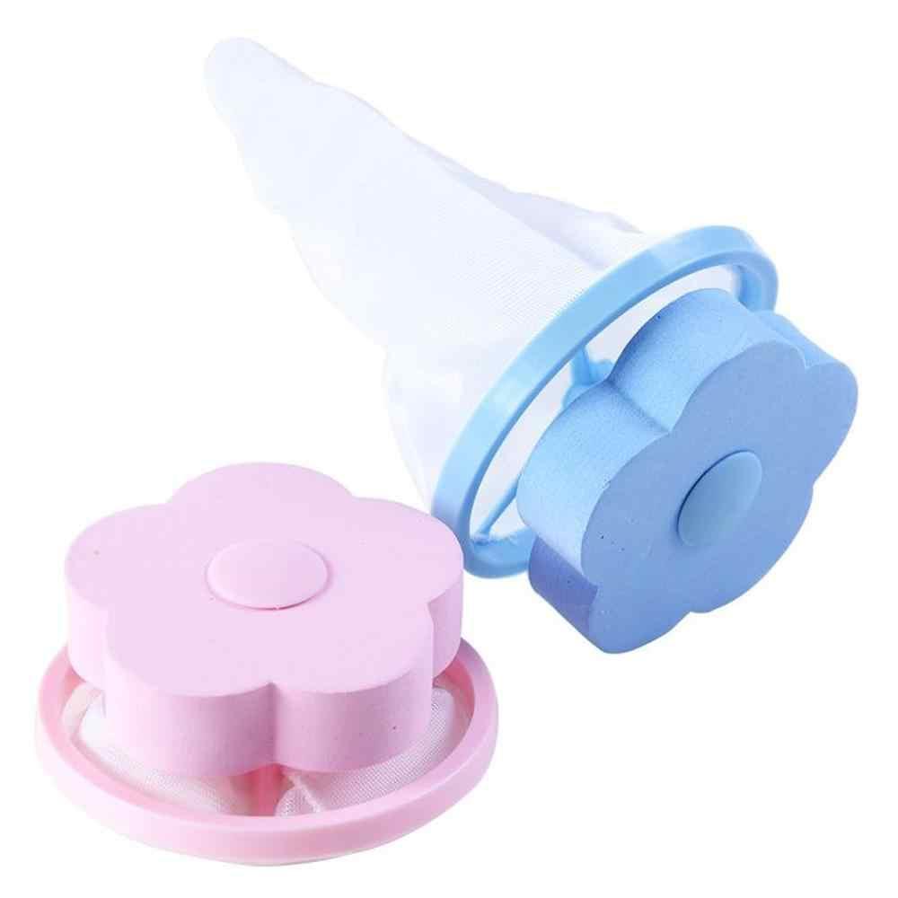 Wasmachine Lint Filter Bag Wasserij Mesh Herbruikbare Wassen Zwevende Pluisjes Netje Haar Filter Netto Pouch Huishoudelijk Gereedschap