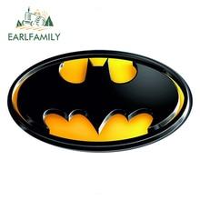 EARLFAMILY 13cm x Batman Logo Super Hero Funny Car Stickers Rear Windshield Bumper Laptop Waterproof Vinyl Decal