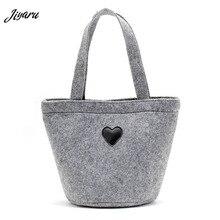 Small Handbags Felt Multifunction Sale-Women Picnic Girls Tote Ladies Solid-Color