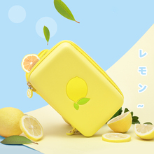 Portable Protective Bag For NINTENDO SWITCH Lemon Fresh Style Silicone Handbag NS Switch Case Stand