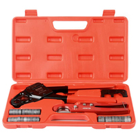 IWS 1234W Pipe Fitting Tool Pex Fitting Tool Pex crimping tool sets Hand Pex Crimper with crimping range 1/2 and 3/4