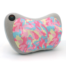 MARESE Electric Massage Pillow Cervical Shiatsu Massage Shoulder Neck Back Body Kneading Heating Massager Car Home Use camo multi functional kneading cervical vibration massager neck shoulder waist full body car home duel use gift large massager pillow