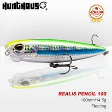 Hunthouse REALIS PENCIL 65 Topwater Lure 65/100mm 5.5/14.5g Swim Crankbait Pesca Whopper Plopper Trolling