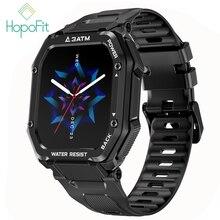 HopoFit Smart Uhr Blut Oxigen Männer Frauen Sport Wasserdicht Fitness Armband Smart Uhr Smartwatch Blutdruck
