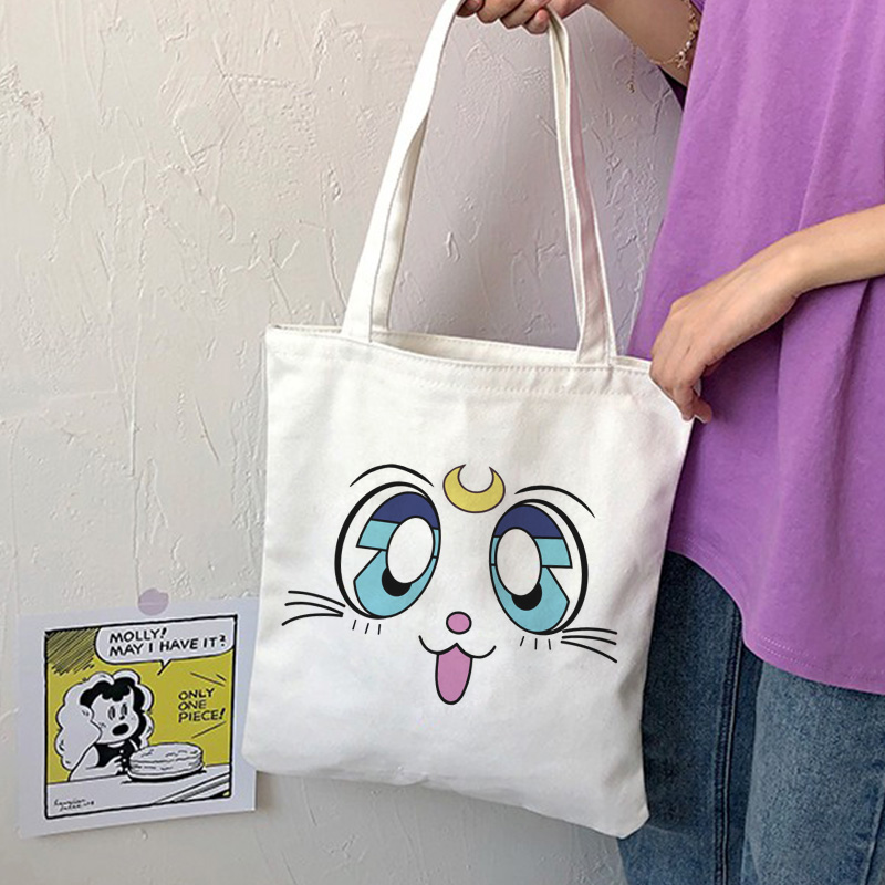 Sweet Sailor Moon Tote Bag Shop Original Sweet Sailor Moon Tote Bag. 100+ Styles Available. Add a sophisticated touch to your collection with these big capacity bags.