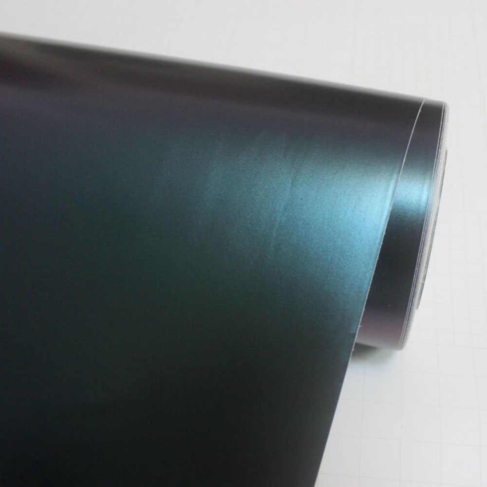 12x60 дюймов автомобильные наклейки крутой чехол Аксессуары пленка глянцевый Хамелеон Винил