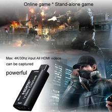 Grabber-Recorder Capture Hdmi-Capture-Card-Board Video-Card Game-Streaming for PS4 Usb-Box