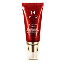 Original Korea Cosmetics MISSHA M Perfect Cover BB Cream 50ml SPF42 PA+++ (#13, #21, #23, #31) Foundation Makeup CC Cream