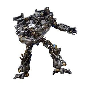 Image 5 - MPM08 MPM 08 transformacja Galvatron Mega Oversize Alloy oryginalna duża figurka KO zabawkowe roboty prezenty