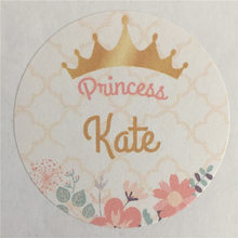 100 Pieces Custom Birthday Adhesive Sticker Personalized Gift Seals Decoration Round Labels